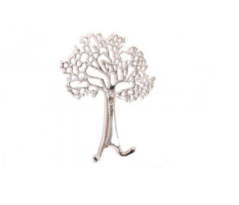 Tree of Life Coat/ Key / Towel Hooks - Aluminium