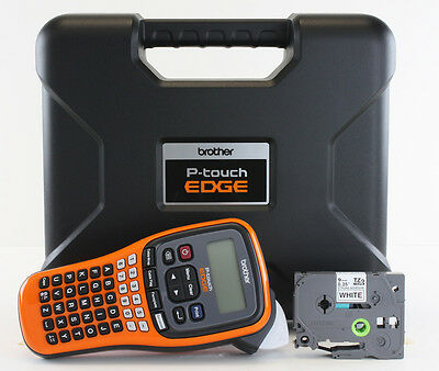 New Brother Pt-e110 Label Maker P-touch Pte110 Includes Carrying Case