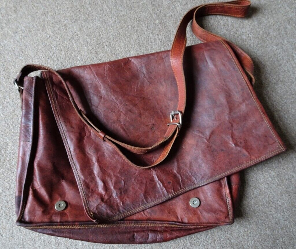 aa30646cad Moroccan leather messenger bag | in Norwich, Norfolk | Gumtree