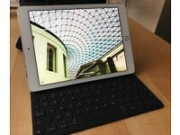 Like New: iPad Pro 9.7 wifi+cellular 128GB with Smart Keyboard and Apple Pencil