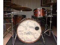 Natal Walnut 3-piece in U.S. Rock sizes