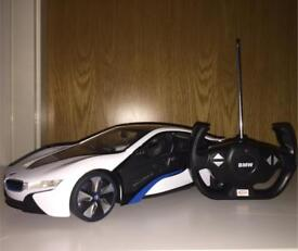 REMOTE CONTROL BMW i8 IN BOX WITH INSTRUCTIONS