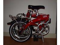 Dahon curve D3 Folding bike