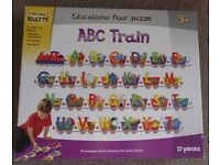 """""""ABC Train"""" - Educational Floor Puzzle for 3 years plus - £5"""