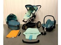 GROOVY GREEN Quinny Buzz FULL TRAVEL SYSTEM
