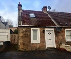 1 bedroom cottage fully furnished Uphall near Broxburn, great commuting links available from 17/1/17