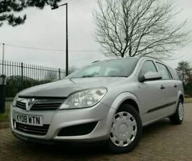 2008/08 VAUXHALL ASTRA 1.7 CDTI ESTATE *SERVICE HISTORY IMMACULATE* peugeot citroen fiat