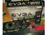 EVGA Nvidia GTX970 sc Graphics Card