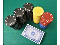 Pro weighted Clay 14.5g poker chips