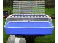 Blue zoo zone 2 cage rodents guinea pigs etc .