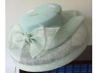Jacques Vert wedding hat - pretty green