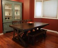 Local Reclaimed Wood Farmhouse Buffet $3395 By LIKEN woodworks