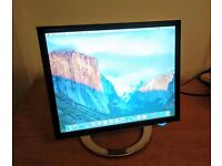 "17"" TFT LCD Monitor with pivot base and rotatable screen 1280 x 1024 -- LG Flatron Slim L1780Q"