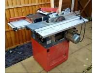 Combi machine :bench saw, planning, milling machine