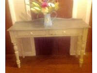 Shabby chic dressing , console, table, desk