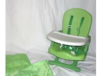 MOTHERCARE TRAVEL HIGHCHAIR IN BAG