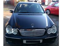 Mercedes-Benz C Class 1.8 C180 K Sports Edition Auto 4dr All Leather Beautifully Used Family Saloon