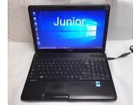 Toshiba HD Laptop, 4GB, 320GB, Windows 10, Microsoft office, Very Good Condition, Ready to use