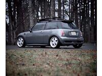 Keskin deep dish alloy wheels, 4x100 mini, vw e30 ford seat etc tyres