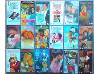 18 x DANIELLE STEELE genuine original VHS video tapes, one careful owner, excellent condition