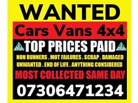 ♻️ ALL CAR VAN 4x4 WANTED ANY CONDITION FAST CASH SELL MY SCRAP TODAY