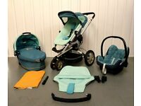 GROOVY GREEN Quinny Buzz FULL TRAVEL SYSTEM!