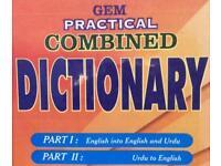 Dual Language Dictionary