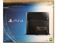 Sony PS4 500GB Jet Black CUH-1116A