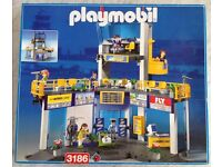 Playmobil airport 3186, also avail 3185 regional jet, 3197 air services vehicle, 3212 luggage truck