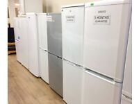 White Fridge Freezers For Sale Reputable Store PAT Tested 3 Months Guarantee