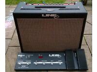 Line 6 Flextone II Guitar Amp With Floorboard