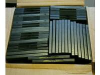 Box of 44 dvd cases single double quad 7mm and 14mm *new*