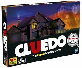 Brand new Cludeo board game