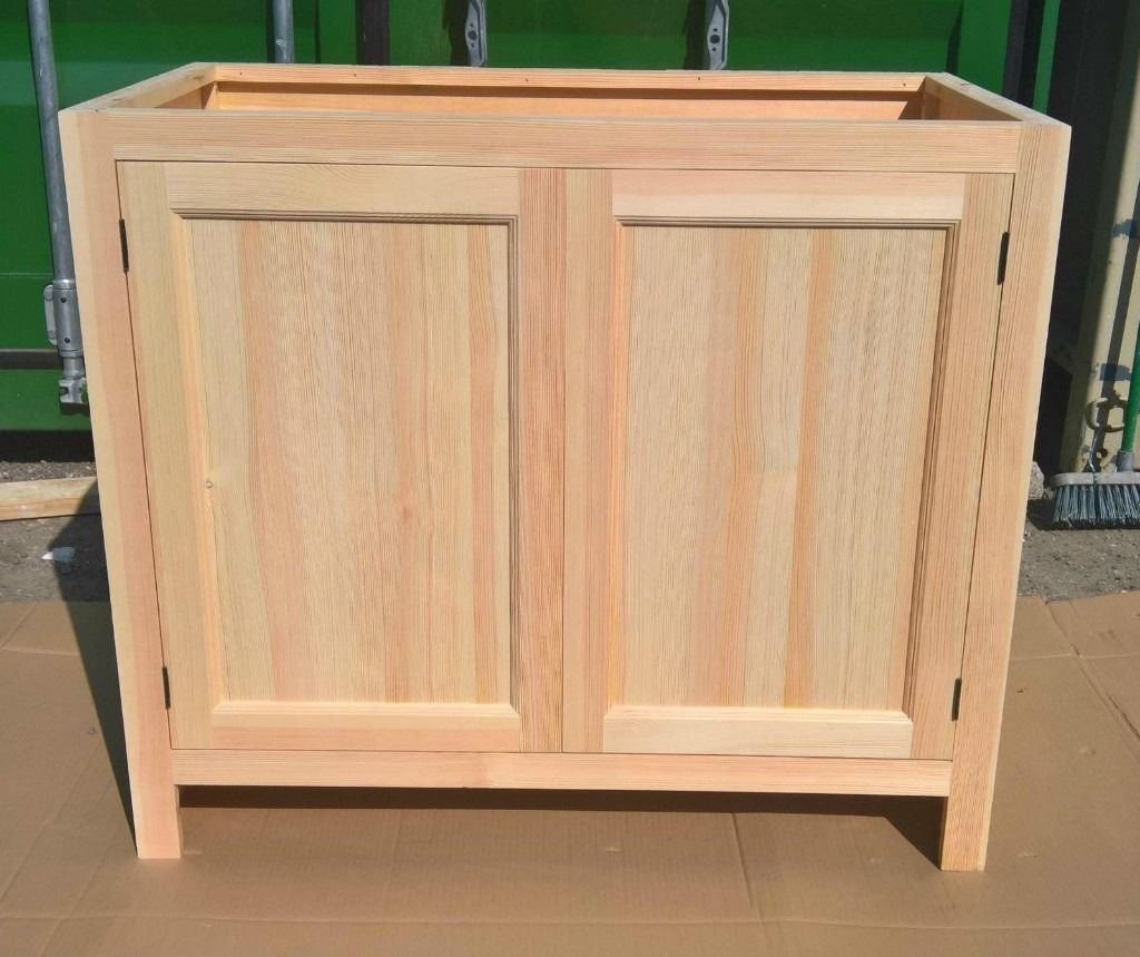 Solid Pine Kitchen Cabinet Base Unit with 2 Doors | in Hounslow ...
