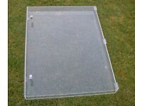 Large (78 x59cm) Locking Perspex Display Case - suitable for Watches/jewellery etc