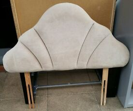 headboard for single beds. light beige colour. In very good condition.