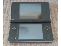 Nintendo DSI XL with x6 games, also with a pro-stylus and leather case.
