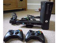 Xbox 360 + Kinect + 2 Controllers + 25 Games - Amazing Bundle