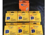 7x Printer Ink cartridges suitable for Epsom Stylus