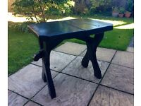 Heavy, Old and Unique, Rustic Garden Table, exact age and type of timber unknown