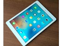Apple iPad Air 16gb WiFi and Cellular 4G Sim Unlock to All Network Great Condition