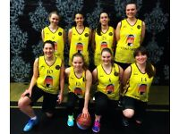 WOMEN'S BASKETBALL TEAM IN LONDON - JOIN NOW