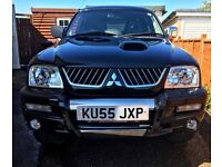 MITSUBISHI L200!! LOW MILEAGE!! STILL UNDER WARRANTY!!