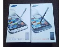 Samsung Galaxy Note 2 in box with all accessories SIM FREE UNLOCKED