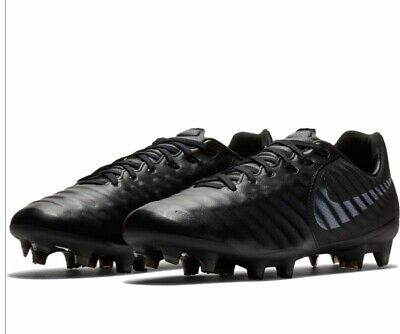 2ff70f2de DS MENS NIKE LEGEND 7 PRO FG BLACK KANGAROO AH7241 001 Sz 12 SOCCER CLEATS  FREE