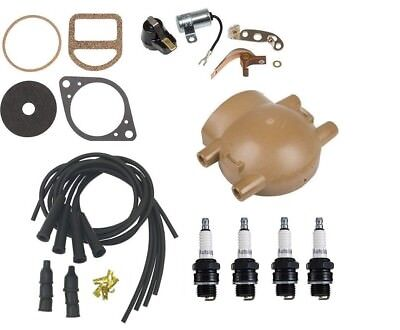 Ford 9n 2n 8n Tractor Front Mount Distributor Ignition Tune Up Kit