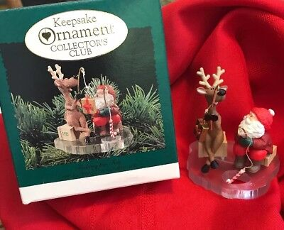 1995  HALLMARK - FISHING FOR FUN ORNAMENT - New in box