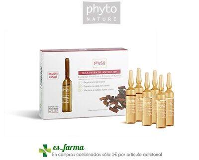 Behandlung Fall (Phyto Natur Behandlung Anti-haarausfall Blasen Anti Haare Loss Fall Haar 6X10 ML)