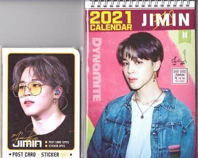 BTS Jimin Calendar Year 2021 & 2022 + Post Card Set K-POP 01