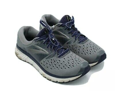 Brooks Men's Sz 8.5 Glycerin 16 Gray 1102891D059 Sneakers Running Shoes $179